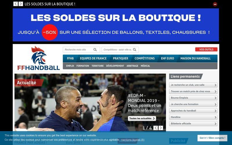 Le handball, un sport d'équipe