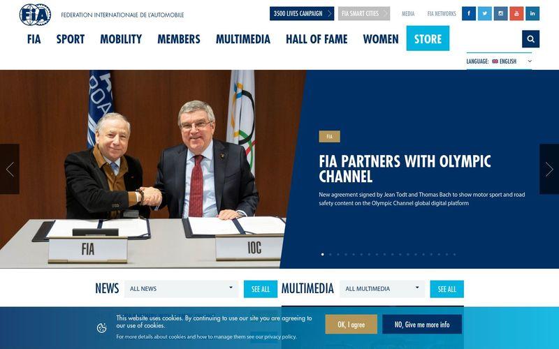 Les actualités de la Fédération Internationale de l'Automobile