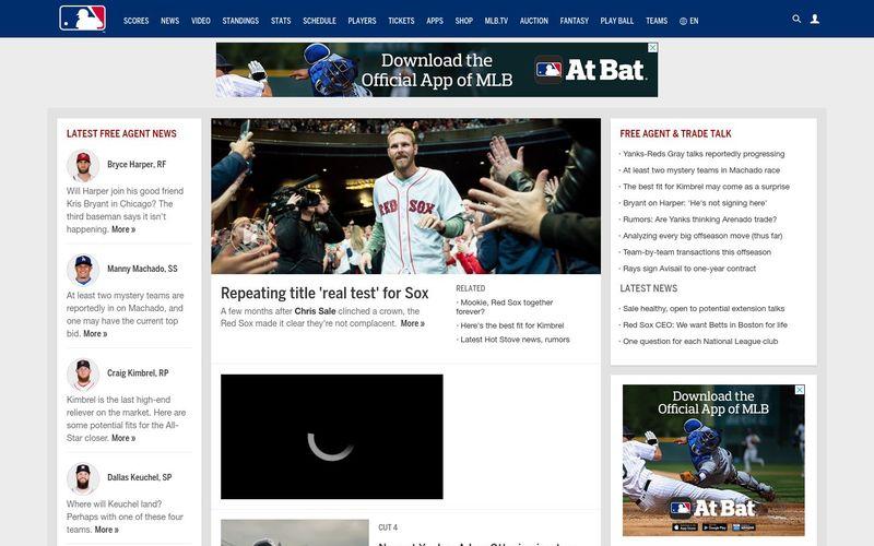 Découvrir la Major League Baseball