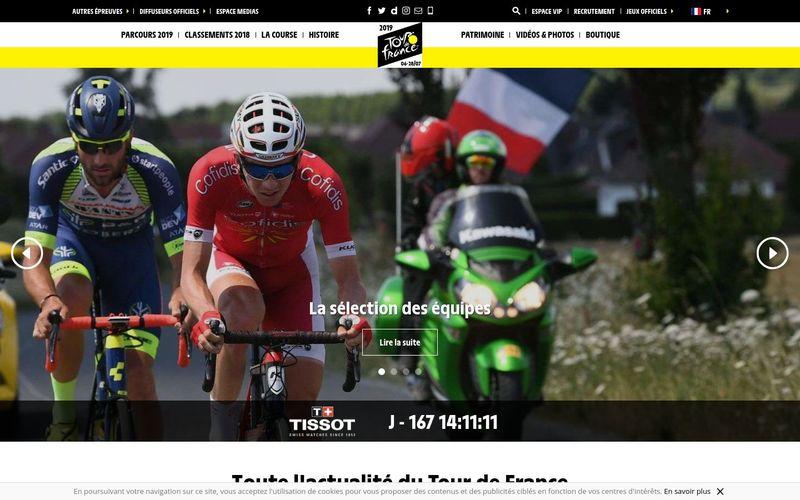 Le Tour de France, une course mythique